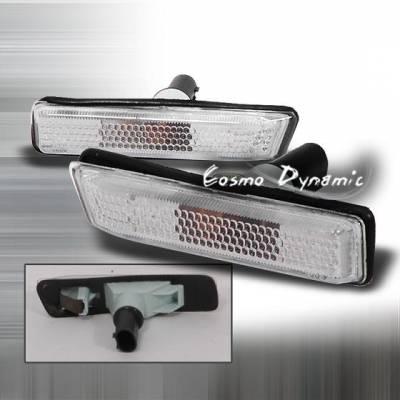 Headlights & Tail Lights - Corner Lights - Custom - Clear sidemarkers 00-04