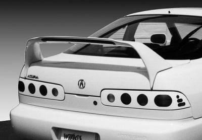 Spoilers - Custom Wing - VIS Racing - Acura Integra 2DR VIS Racing RS Racing Series Wing with Light - 591197-V26L