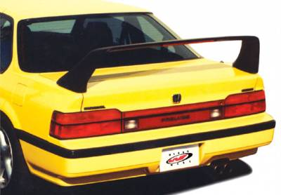 Spoilers - Custom Wing - VIS Racing - Honda Prelude VIS Racing F40 Style Wing with Light - 591206-1LL