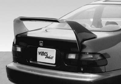 Spoilers - Custom Wing - VIS Racing - Honda Civic 2DR VIS Racing RS Racing Series Wing with Light - 591212-V26L