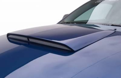 Mustang - Hood Scoops - 3dCarbon - Ford Mustang 3dCarbon Hood Scoop - 691017