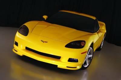Corvette - Front Bumper - CDC - Chevrolet Corvette CDC Front Chin Spoiler - 0542-7000-01