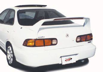 Spoilers - Custom Wing - VIS Racing - Acura Integra 4DR VIS Racing RS Racing Series Wing with Light - 591224-V26L