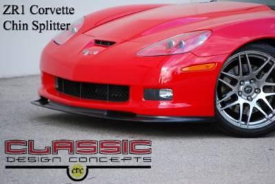 Corvette - Front Bumper - CDC - Chevrolet Corvette CDC Front Bumper Splitter - 0542-7014-01