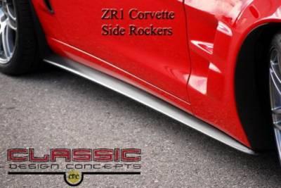 CDC - Chevrolet Corvette CDC Side Rockers - 0542-7015-01