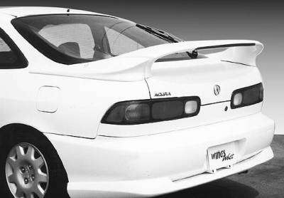 VIS Racing - Acura Integra 2DR VIS Racing Custom Mid-Wing with Light - 3PC - 591226-V26L