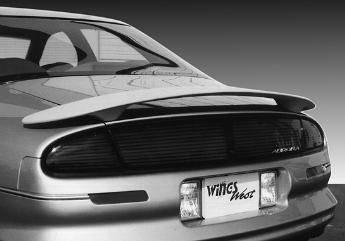 Spoilers - Custom Wing - VIS Racing - Oldsmobile Aurora VIS Racing Custom Style Wing with Light - 591227L