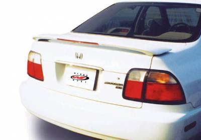 Spoilers - Custom Wing - VIS Racing - Honda Accord 2DR & 4DR VIS Racing Factory Style Wing with Light - 591236L