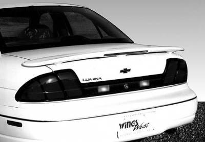 Spoilers - Custom Wing - VIS Racing - Chevrolet Monte Carlo VIS Racing Custom 3 Leg Wing with Light - 591243L