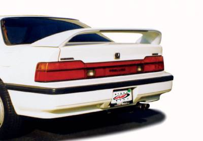 Spoilers - Custom Wing - VIS Racing - Honda Prelude VIS Racing Thruster Style Wing with Light - 591252LL