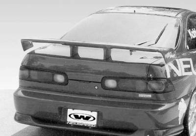 Spoilers - Custom Wing - VIS Racing - Acura Integra VIS Racing Touring Style Wing with Light - 591266L