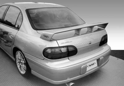 Spoilers - Custom Wing - VIS Racing - Chevrolet Malibu VIS Racing Touring Style with Light - 591266L-4