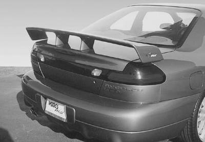 Spoilers - Custom Wing - VIS Racing - Dodge Neon VIS Racing Touring Style Wing with Light - 591266L-6