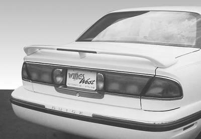 Spoilers - Custom Wing - VIS Racing - Buick LeSabre VIS Racing Custom 3 Leg Wing with Light - 591273L