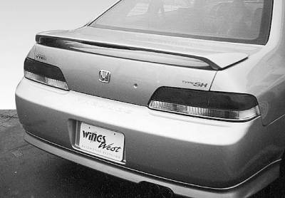 Spoilers - Custom Wing - VIS Racing - Honda Prelude VIS Racing Factory Style Wing with Light - 591292L