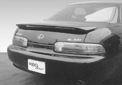 Spoilers - Custom Wing - VIS Racing - Lexus SC VIS Racing Factory Style Wing with Light - 591311L