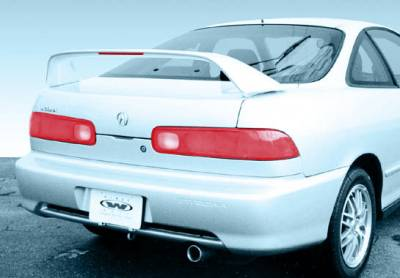 Spoilers - Custom Wing - VIS Racing - Acura Integra 2DR VIS Racing Type-R Wing with Light - 591319L