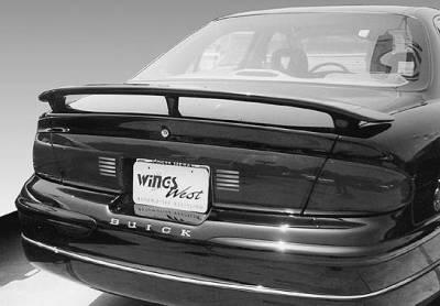 Spoilers - Custom Wing - VIS Racing - Buick Regal VIS Racing Custom 3 Leg Wing with Light - 591324-2