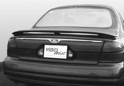 Spoilers - Custom Wing - VIS Racing - Ford Contour VIS Racing Factory 3 Leg Wing with Light - 591328L