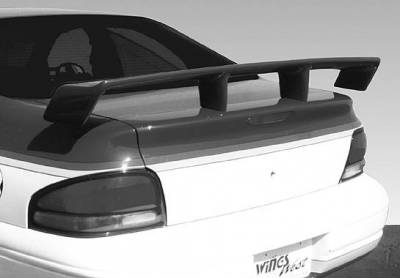 Spoilers - Custom Wing - VIS Racing - Dodge Stratus VIS Racing Touring Style Wing without Light - 591343-2