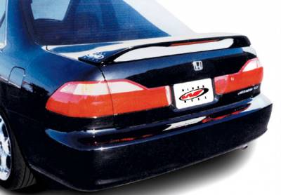 Spoilers - Custom Wing - VIS Racing - Honda Accord 2DR VIS Racing Factory Style Wing with Light - 591346L