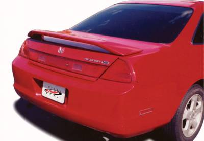 Spoilers - Custom Wing - VIS Racing - Honda Accord 2DR VIS Racing Factory Style Wing with Light - 591354L
