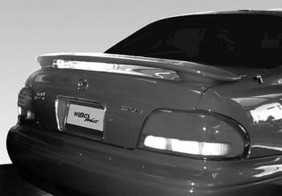 Spoilers - Custom Wing - VIS Racing - Mazda 626 VIS Racing WW 2-Leg Wing with Light - 591357L