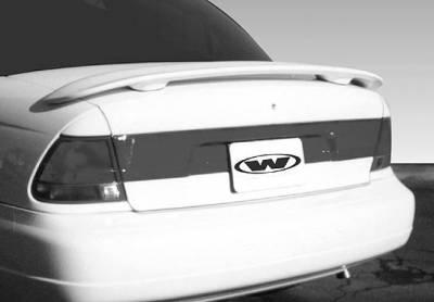 Spoilers - Custom Wing - VIS Racing - Saturn SL VIS Racing Custom 2 Leg Spoiler with Light - 591360L-2