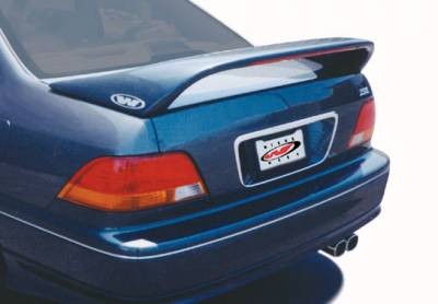 Spoilers - Custom Wing - VIS Racing - Acura RL VIS Racing Thruster Style Wing with Light - 591377-V26L