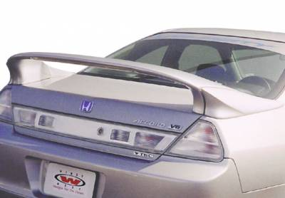 Spoilers - Custom Wing - VIS Racing - Honda Accord 2DR VIS Racing Custom Mid-Wing with Light - 3PC - 591389-V26L