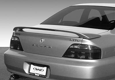 Spoilers - Custom Wing - VIS Racing - Acura TL VIS Racing Factory Style Wing with Light - 591397L