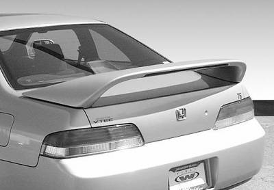 Spoilers - Custom Wing - VIS Racing - Honda Prelude VIS Racing Thruster Style Wing with Light - 591407-V26L