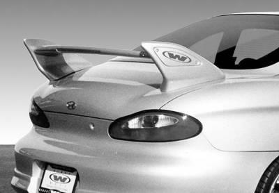 Spoilers - Custom Wing - VIS Racing - Hyundai Tiburon VIS Racing Factory Shark Hi-Wing with Light - 591437L