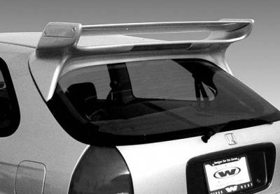 Spoilers - Custom Wing - VIS Racing - Honda Civic HB VIS Racing Commando Wing with Light - 591447L