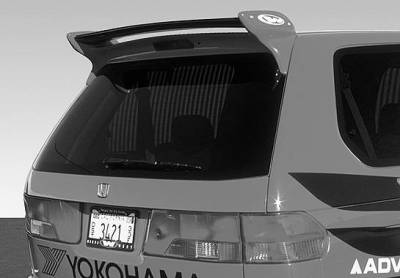Spoilers - Custom Wing - VIS Racing - Honda Odyssey VIS Racing Commando Style Wing with Light - 591498L