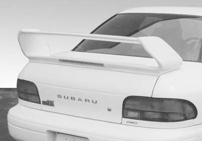 Spoilers - Custom Wing - VIS Racing - Subaru Impreza VIS Racing RS Pro Wing with Light - 591506L