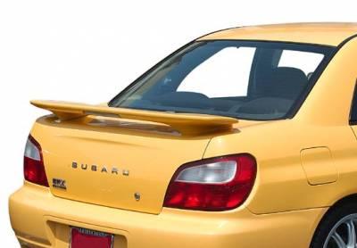 Spoilers - Custom Wing - VIS Racing - Subaru WRX VIS Racing Factory Style Wing with Light - 591541L