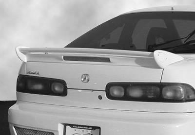 Spoilers - Custom Wing - VIS Racing - Acura Integra 2DR VIS Racing Mini-Me Commando Wing with Light - 591542L