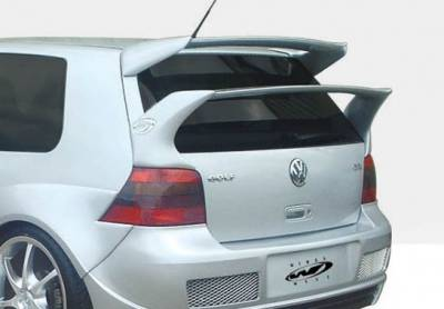 Spoilers - Custom Wing - VIS Racing - Volkswagen Golf GTI VIS Racing G-Spec Mid-Wing - 591561L