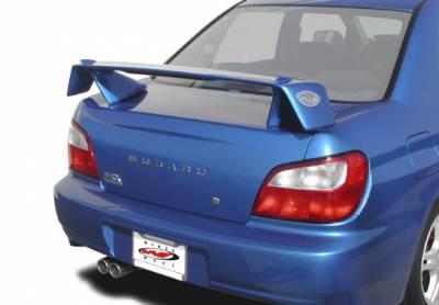 Spoilers - Custom Wing - VIS Racing - Subaru WRX VIS Racing Rally Series Wing with Light - 591568L