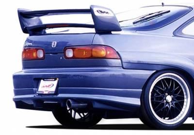 Spoilers - Custom Wing - VIS Racing - Acura Integra 2DR VIS Racing Sky-Liner Wing with Light - 591574L
