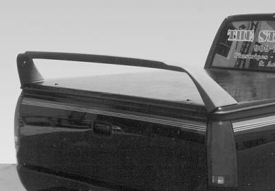 Spoilers - Custom Wing - VIS Racing - Chevrolet S10 VIS Racing Tonneau Cover Wing without Light - 691036-2