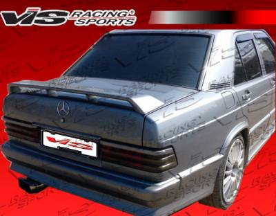 Spoilers - Custom Wing - VIS Racing - Mercedes-Benz C Class VIS Racing Euro Tech Spoiler - 84MEW2014DET-003