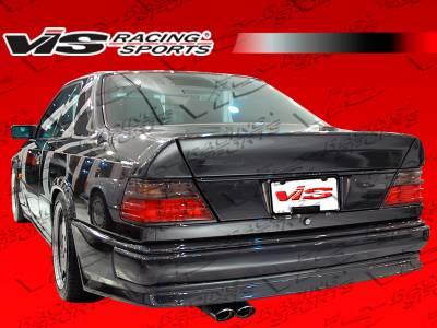 Spoilers - Custom Wing - VIS Racing - Mercedes-Benz E Class VIS Racing C Tech Spoiler - 86MEW1242DCTH-003