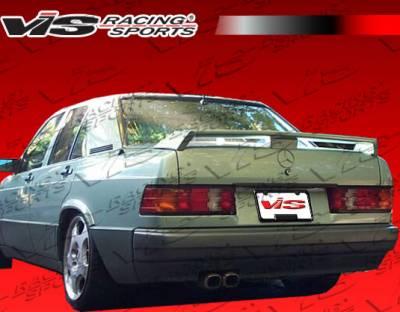 Spoilers - Custom Wing - VIS Racing - Mercedes-Benz E Class VIS Racing Euro Tech Spoiler - 86MEW1244DET-003