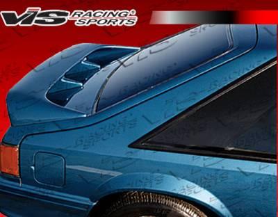 Spoilers - Custom Wing - VIS Racing - Ford Mustang VIS Racing Cobra R Spoiler - 87FDMUSHBCR-003