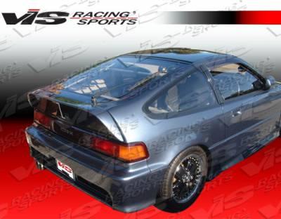 Spoilers - Custom Wing - VIS Racing - Honda CRX VIS Racing Techno R-1 Spoiler - 88HDCRXHBTNR1-003