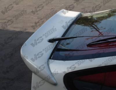 Spoilers - Custom Wing - VIS Racing - Honda CRX VIS Racing TNR Flared Spoiler - 88HDCRXHBTRF-003