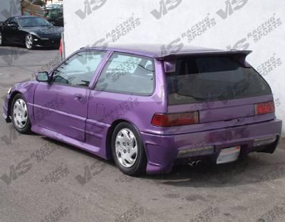 Spoilers - Custom Wing - VIS Racing - Honda Civic HB VIS Racing GTX Spoiler - 88HDCVCHBGTX-003