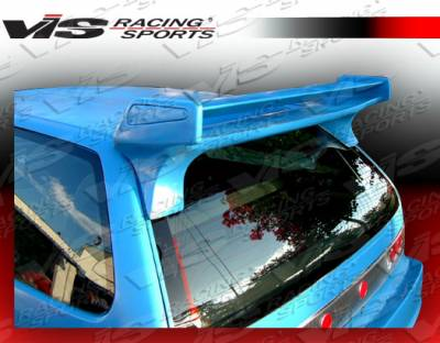 Spoilers - Custom Wing - VIS Racing - Honda Civic HB VIS Racing Quest Spoiler - 88HDCVCHBQST-023